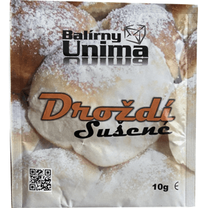 Balení 5x Unima Droždí sušené 10 g
