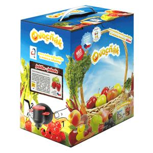 Ovocňák Mošt jablko - jahoda 3 l