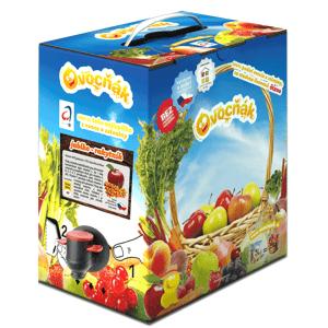 Ovocňák Mošt jablko - rakytník 3 l