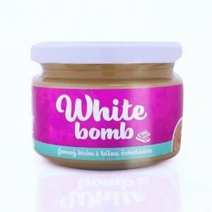 Ladylab WHITE BOMB arašídový krém s bílou čokoládou 250 g