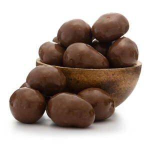 GRIZLY Lyofilizované jahody v mléčné čokoládě 250 g