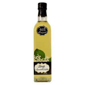 Napro Sirup z květu bezu černého s čistým podílem českého ovoce 50 % 500 ml