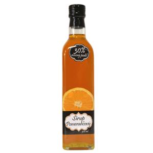 Napro Pomerančový sirup s čistým podílem českého ovoce 30 % 500 ml
