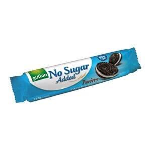 Gullón Twins kakaové sušenky plněné krémem bez přídavku cukru, se sladidly 147 g