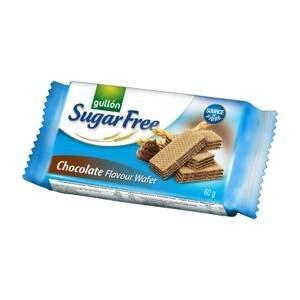 Gullón Chocolate wafer Oplatky plněné čokoladovým krémem, bez cukru, se sladidly 60 g