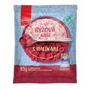 Semix Rýžová kaše s malinami bez lepku 65 g