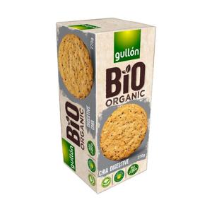 Gullón BIO Digestive sušenky s cereáliemi a chia semínky 270 g - expirace