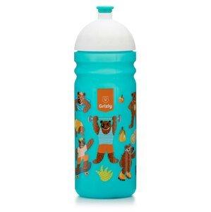 GRIZLY Zdravá láhev 0,7 l - modrozelená
