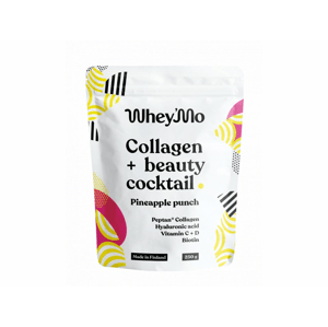 Whey'mo Collagen+ beauty coctail 250 g ananasový punč