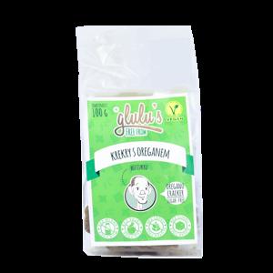 Glulu's Oreganové krekry, bez cukru 100 g - expirace