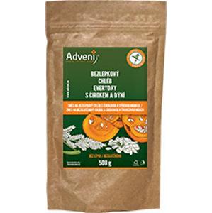 Adveni Bezlepkový chléb Everyday s dýňovou moukou 500 g - expirace