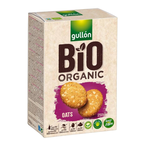 Gullón BIO Ovesno - pšeničné sušenky 250 g - expirace