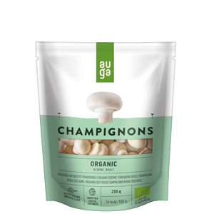 Auga Žampiony ve slaném nálevu BIO 250 g - expirace