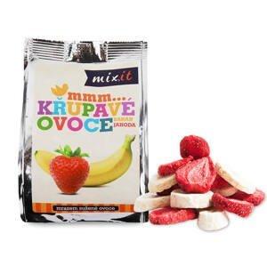 Mixit Křupavé ovoce banán + jahoda 23 g