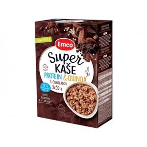 Emco Super kaše protein a quinoa s čokoládou 3x55 g - expirace