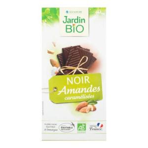 Jardin BIO Čokoláda s mandlemi 100 g - expirace