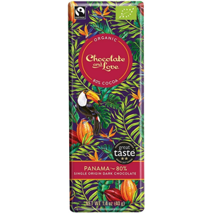 Chocolate and Love Panama 80 % BIO 40 g