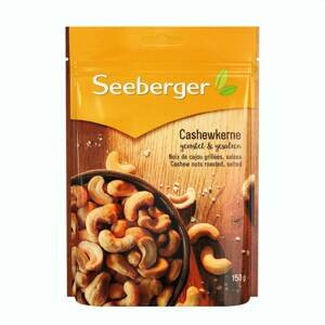Seeberger Kešu oříšky pražené a solené 150 g