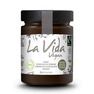La Vida Vegan Čokoládová pomazánka hořká BIO 270 g - expirace