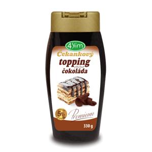 4Slim Čekankový topping čokoláda 330 g