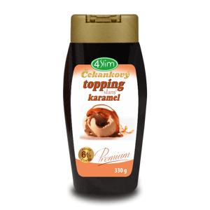 4Slim Čekankový topping slaný karamel 330 g