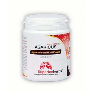 SUPERIONHERBS AGARICUS 90 kapslí - expirace