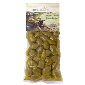 Imperial olives Zelené s paprikou 250 g - expirace