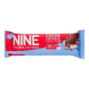 9NINE Tyčinka se semínky kokosem a kakaem bezlepková 40 g - expirace