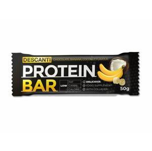 Descanti protein bar ( banán, kokos ) 50 g - expirace