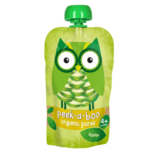 Peek-a-boo Jablko BIO 113 g expirace