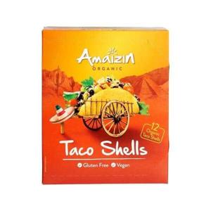 Amaizin Tortilly kukuřičné Taco shell Bio 150 g - expirace