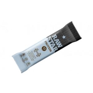 Raw star Protein rozinky, mandle, kakao 45 g - expirace