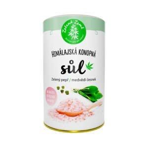 Zelená země Konopná sůl Zelený pepř a medvědí česnek 165 g