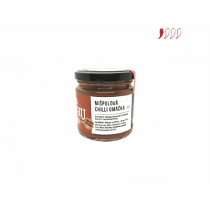 HuhuChilli Mišpulová chilli omáčka 200 ml hot