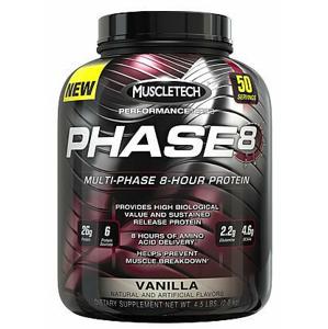 MuscleTech Phase 8 - 2090 g - vanilka expirace