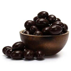 GRIZLY Mandle v 53% hořké čokoládě 500 g