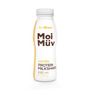 GymBeam MoiMüv Milkshake vanilka 242 ml