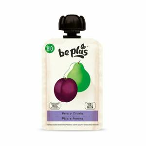 Beplus Ovocné pyré hruška, švestka BIO 100 g - expirace