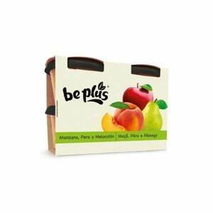 Beplus Ovocné pyré jablko, broskev, hruška 4 x 200 g - expirace