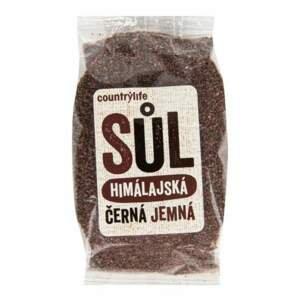 Country Life Sůl himálajská černá jemná 250 g