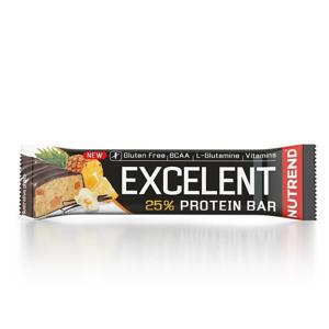 Nutrend Excelent Protein Bar 85g - čokoláda + nugát s brusinkami expirace