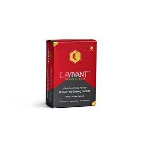 Lavivant Vegan, ženšen prášek 30 kapslí
