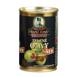 Franz Josef Kaiser Olivy zelené plněné pálivou paprikovou pastou 300 g