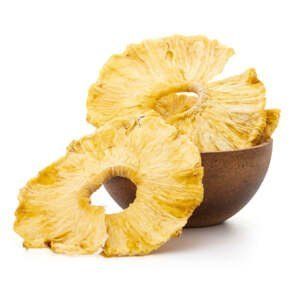 GRIZLY Ananasové kroužky BIO 500 g
