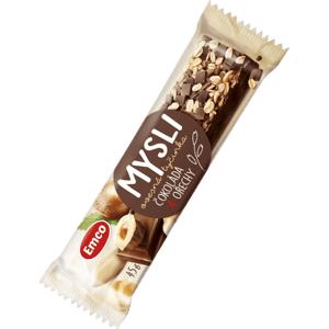 Emco Mysli Ovesná tyčinka - Čokoláda a ořechy 45 g - expirace
