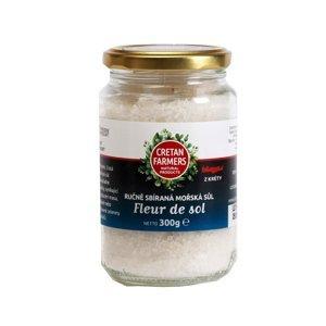 Cretan Farmers Krétská mořská květová sůl ručně sbíraná 300 g