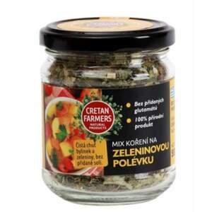"""Cretan Farmers Kořenící směs bez soli """"Zeleninová polévka"""" 55 g"""