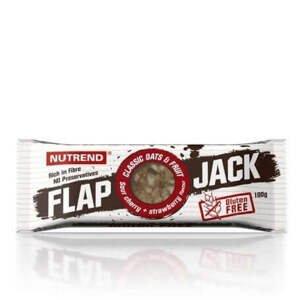 Nutrend Flapjack Gluten Free 100 g - borůvka+brusinka s jogurtovou polevou expirace