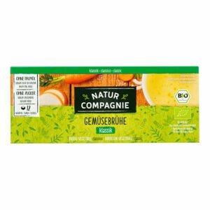 Natur Compagnie Bujon zeleninový bez droždí 8 kostek BIO 84 g