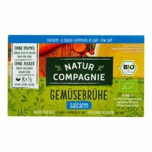 Natur Compagnie Bujon zeleninový s nízkým obsahem soli kostky BIO 68 g